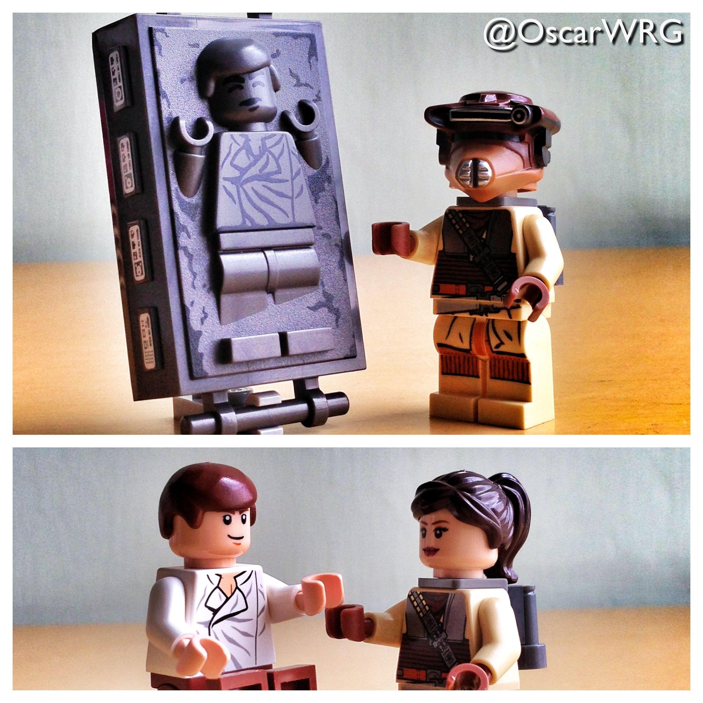 Han Solo In Carbonite And Princess Leia As Boushh LEGO - 25 2 lego star wars minifigures han solo han in carbonite blaster