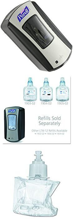 Purell Hand Sanitizer Dispenser Purell 1928 04 Ltx 12 Touch Free