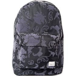 Photo of Spiral Tattoo Flock Black Backpack Bag Spiral