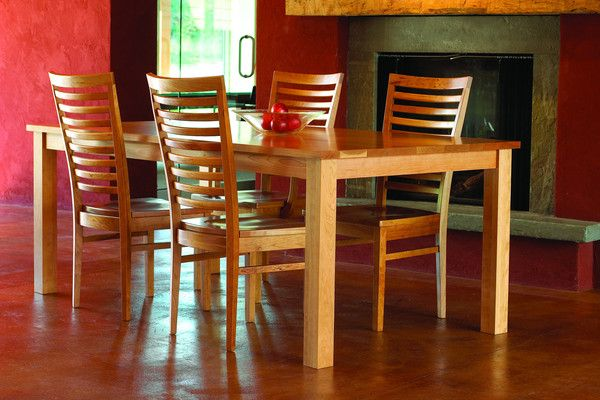 Bedford dining set in Cherry - Dining Table available separately
