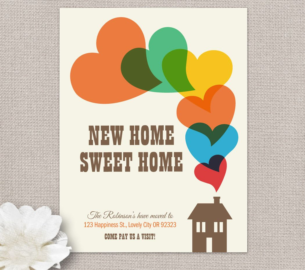 Moving Home Cards Template Moving Home Inventory In Moving Home Cards Template Business Professiona Moving House Card Moving Home Change Of Address Cards