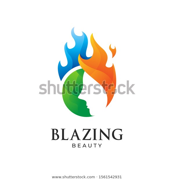 Find Blazing Beauty Fire Logo Vector Icon Stock Images In Hd And Millions Of Other Royalty Free Stock Photos Vector Logo Vector Icons Illustration Vector Icons