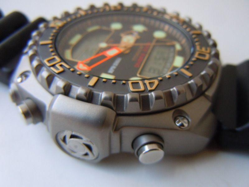 Citizen professional diver 39 s 200m ana digi titanium quartz diver watch jp3020 gurdal - Citizen titanium dive watch ...