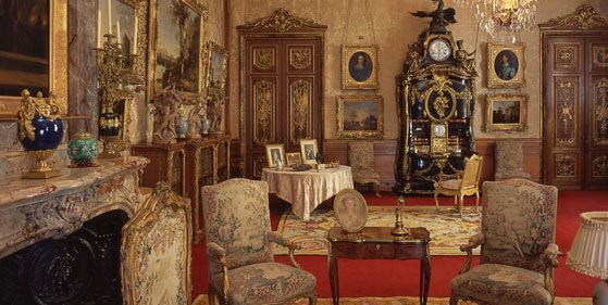 The Morning Room.  ©National Trust, Waddesdon Manor.  Photo: John Bigelow Taylor