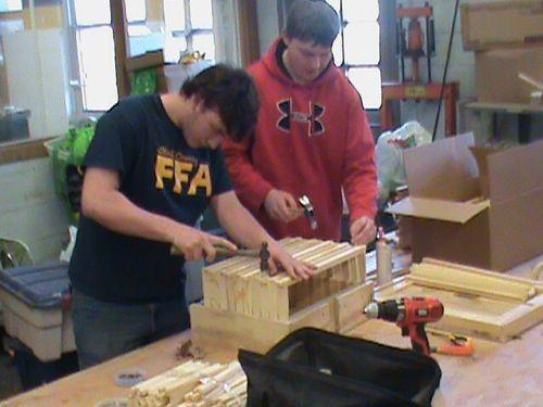 Honeybee hive construction project Ag mechanics and entomology - entomology scientist resume
