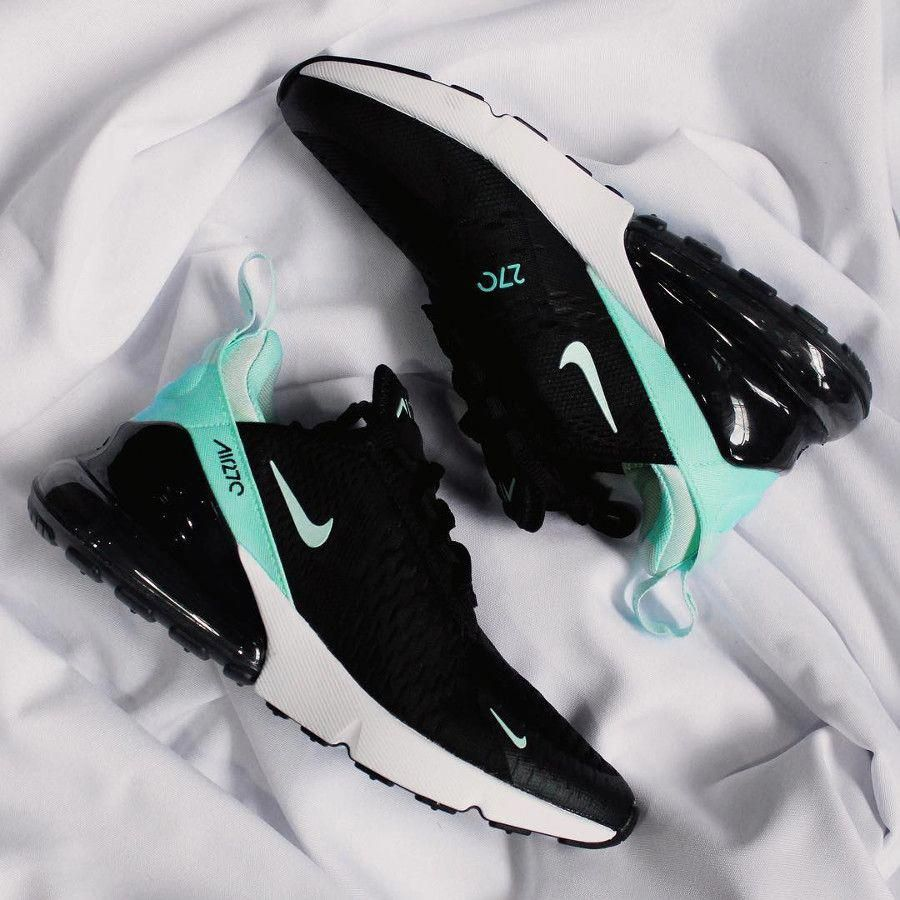 Nike Air Max 270 noire et turquoise (2018)   Stunning in