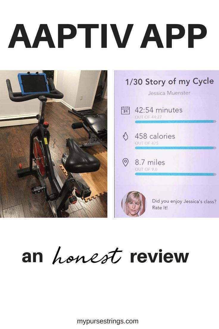Looking for a home workout at home on a spin bike? Find out how the Aaptiv app compares to the Pelot...
