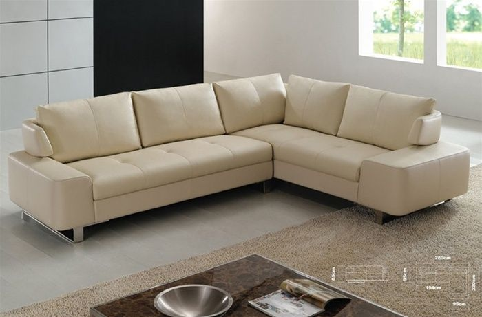 Refined Italian Top Grain Leather Sectional Sofa Leather Sectional Sofas Contemporary Leather Sofa Leather Living Room Furniture