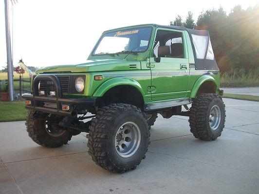 Lifted Suzuki Samurai 1990 Suzuki Samurai 4 500 100241465