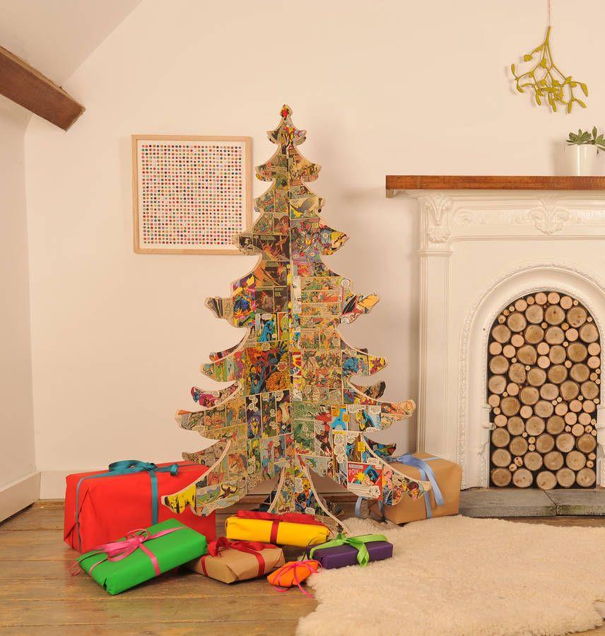 Top 10 Modern Christmas Trees Wooden christmas trees, Christmas - wood christmas decorations