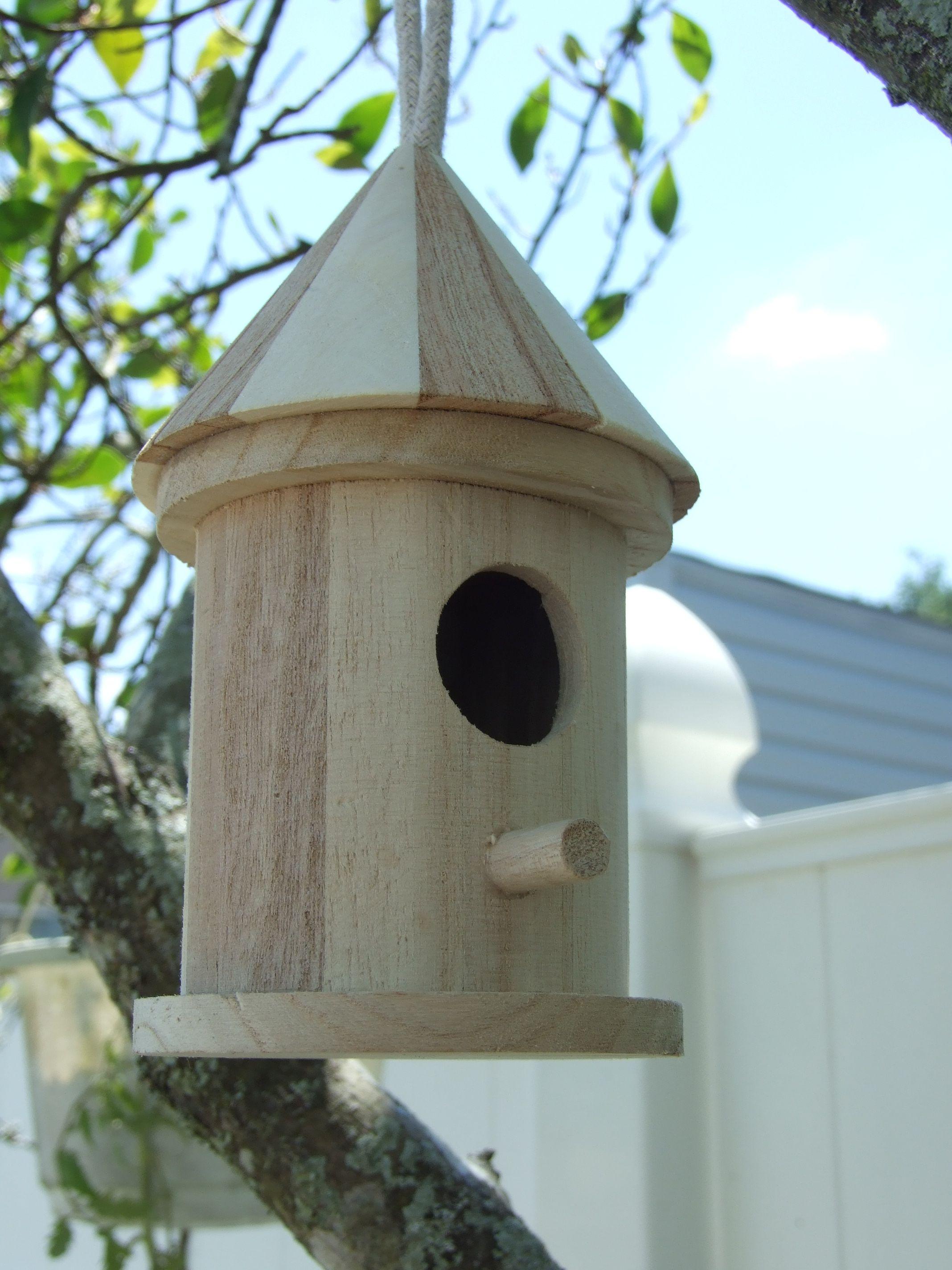 Birdhouse constructed of wood bird house design free standing bird - Free Bird House Plans Bluebird Purple Martin Wren More