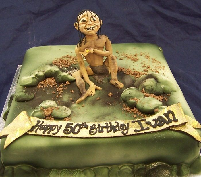 Gollum Cake From The Hobbit And The Lord Of The Rings In