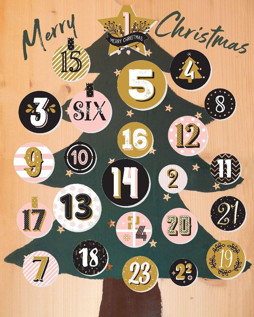 Christmas Tree Advent Calendar Photoshop Template For Photographers Christmas Tree Advent Calendar Christmas Advent Calendar Christmas Templates
