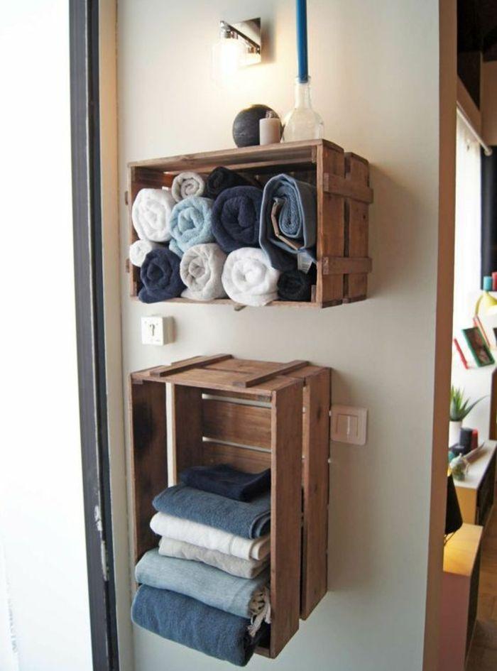 ▷1001+ idées pour fabriquer une étagère en cagette soi-même ...
