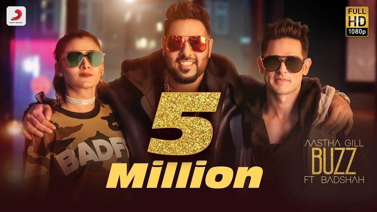 Aastha Gill Buzz Feat Badshah Priyank Sharma Official Music Video Youtube Videos Music Music Videos Songs
