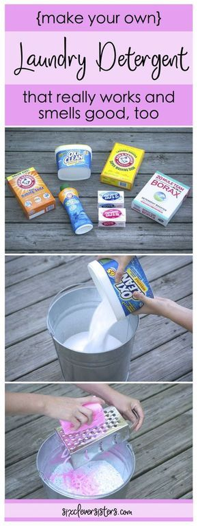 Make Your Own Powdered Laundry Detergent Powder Laundry