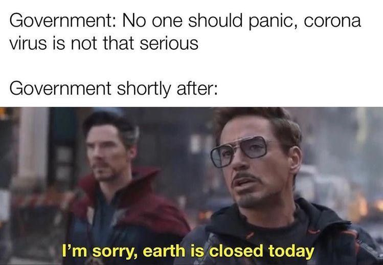 I M Sorry Earth Is Closed Today Really Funny Memes Funny Relatable Memes Stupid Funny Memes