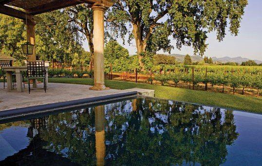 tuscan style magazine   ... Tuscan Style Villa, Napa Valley CA   Luxury Home Magazine Media Blog