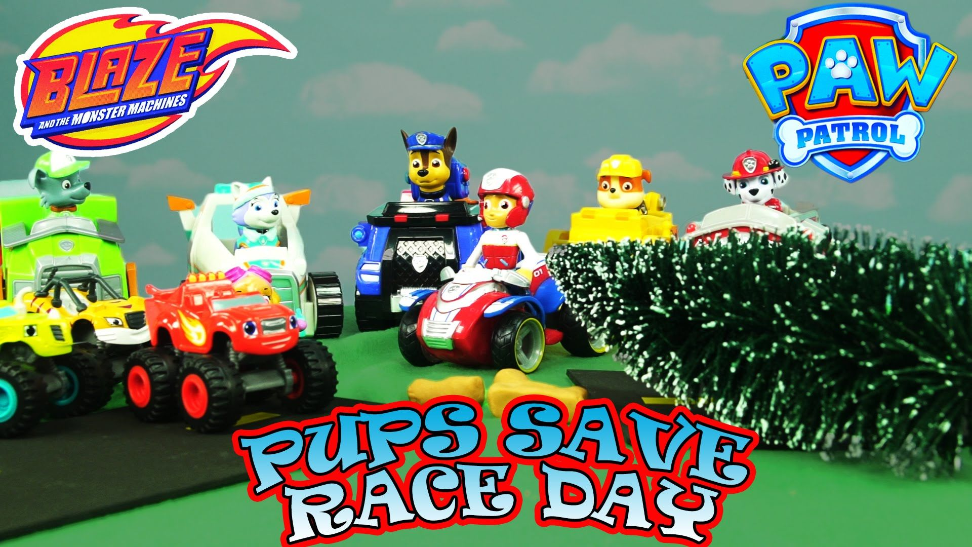 PAW PATROL ADVENTURES: Pups Save Blaze and the Monster Machines Race