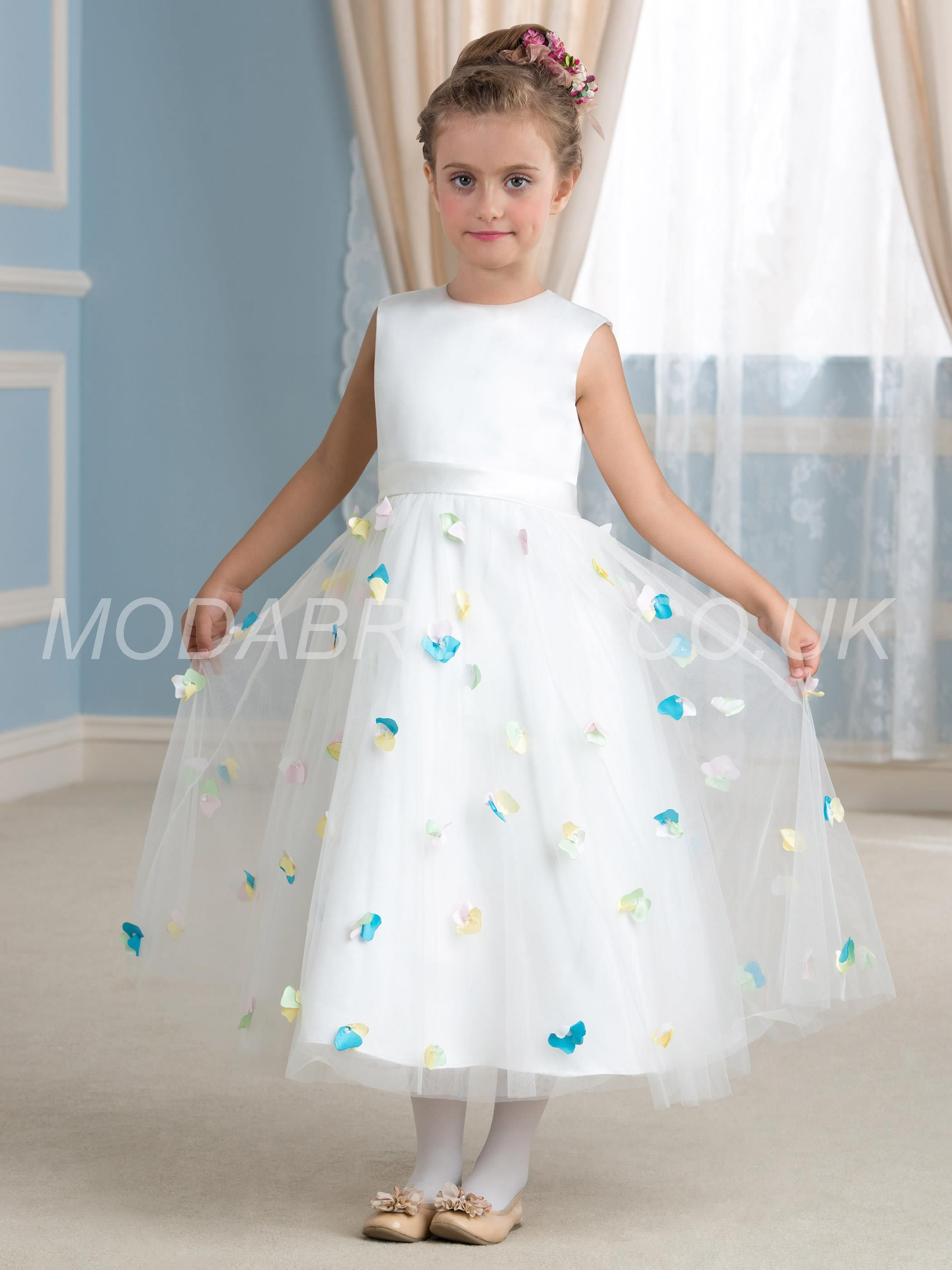 Modabridal supplies vogue scoop sleeveless natural zipper up modabridal supplies vogue scoop sleeveless natural zipper up tea length summer fall flowers flower girl dress flower girl dresses izmirmasajfo