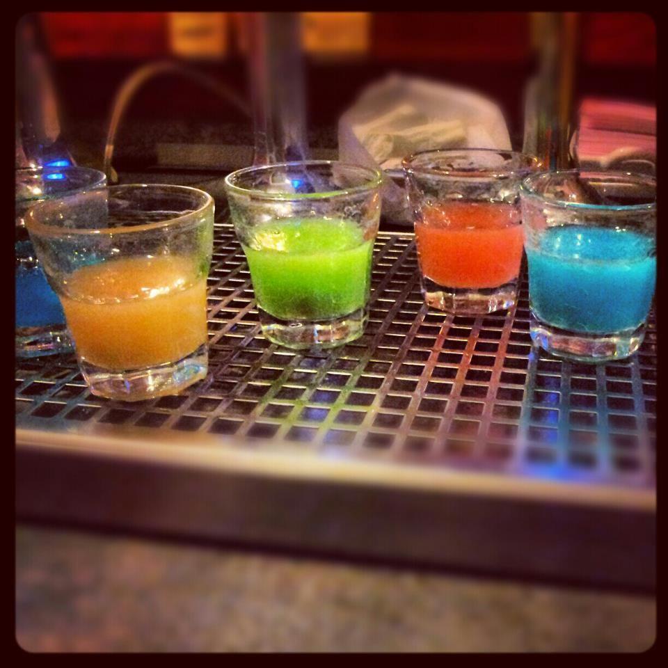 #Shot #Alcool #Coloured #Cool #pentatonic