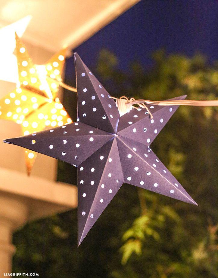 Scandinavian Star Garland