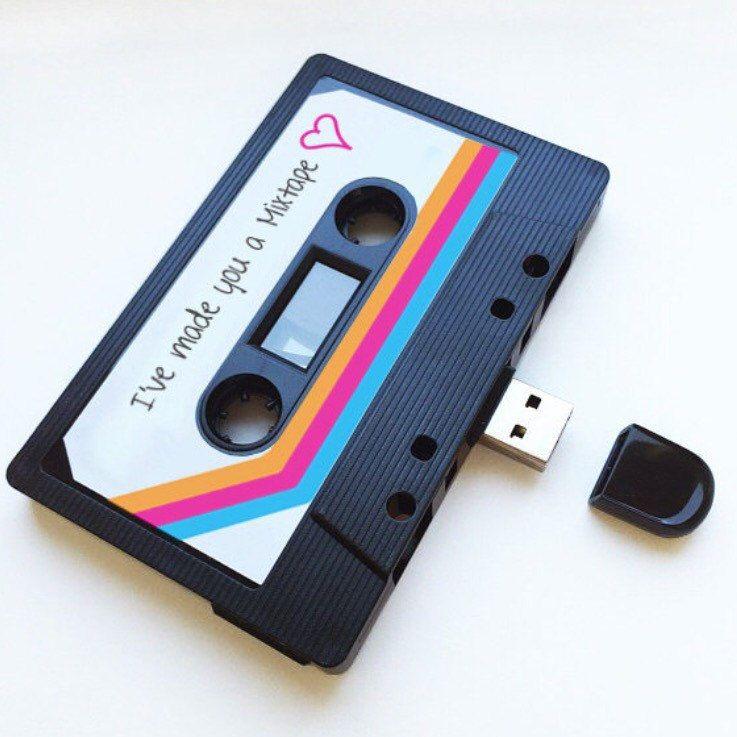 4gb8gb16gb usb mixtape retro anniversary gift loved etsy