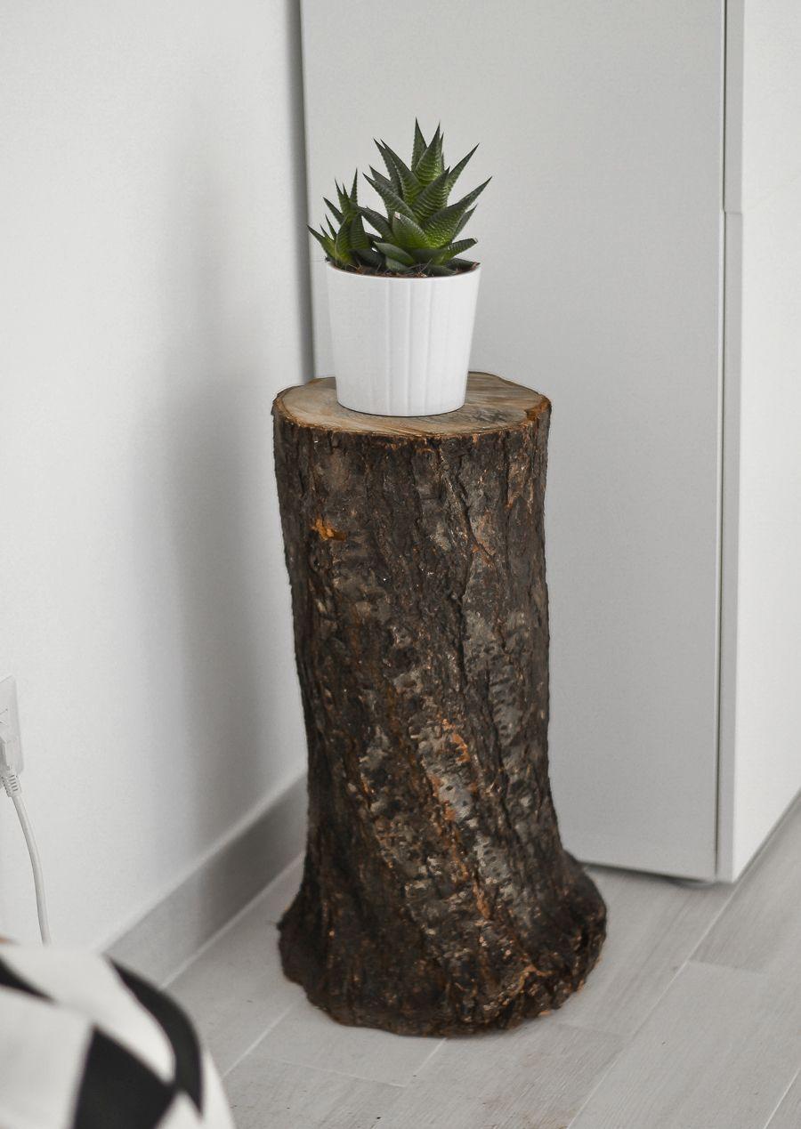 Herbst Dekor Wie Man Einen Baum Stamm Zu Hause Style Herbst