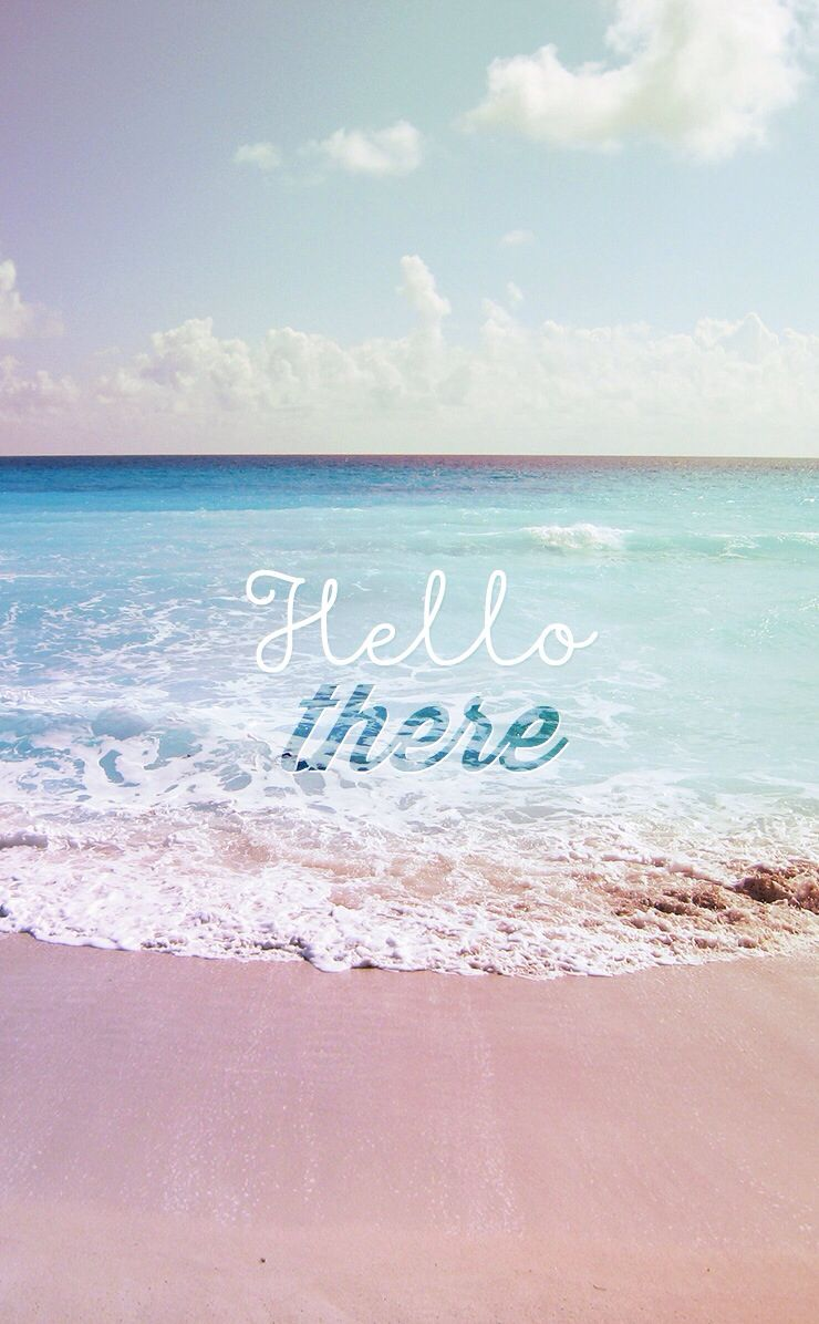 Hello There ☆ Download More Cute IPhone Wallpapers At @prettywallpaper More