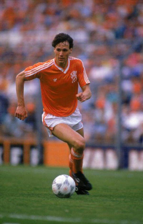 1989 Marco Van Basten Starting Lineup NEDERLAND football Milan