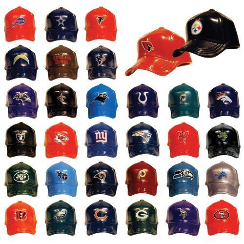 Mini Nfl Football Caps Set Of 32 Teams By Nfl 27 48