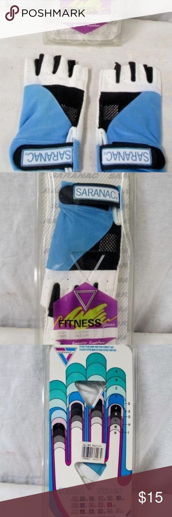 NEUE SARANAC Leather Workout Core Fitness-Handschuhe Neu im Paket - mehrere Paare zur Zeit... - NEUE...