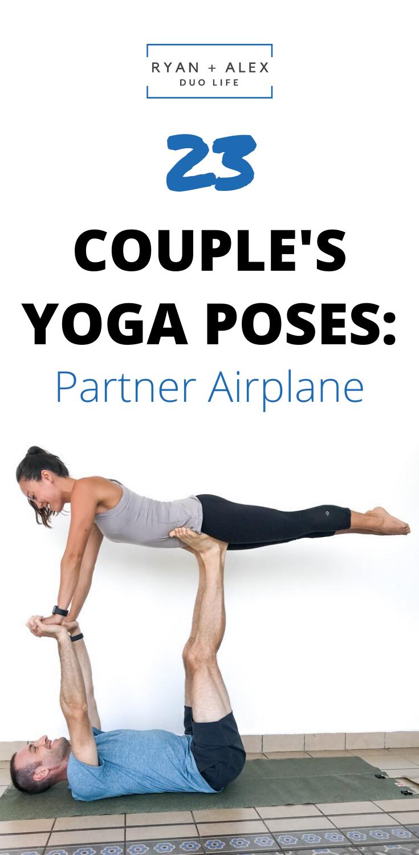Couple S Yoga Poses 23 Easy Medium And Hard Partner Poses Couples Yoga Poses Couples Yoga Hard Yoga Poses