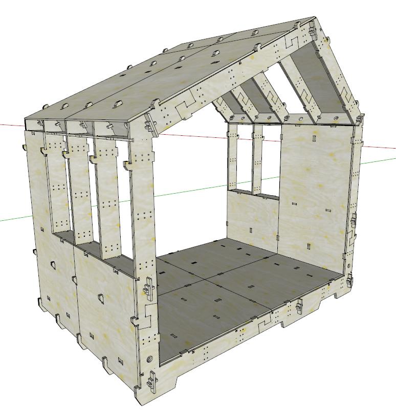Wikihouse Browse Library Casa De Madeira Arquitetura Construcao Modular