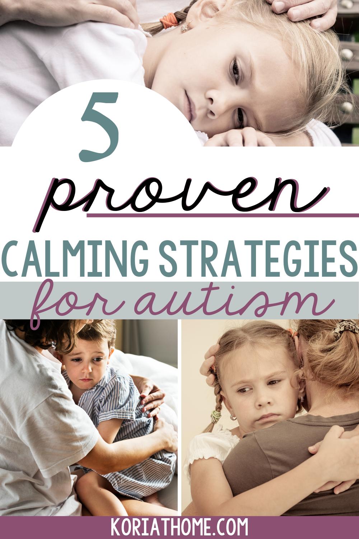 Autism Calming Activities