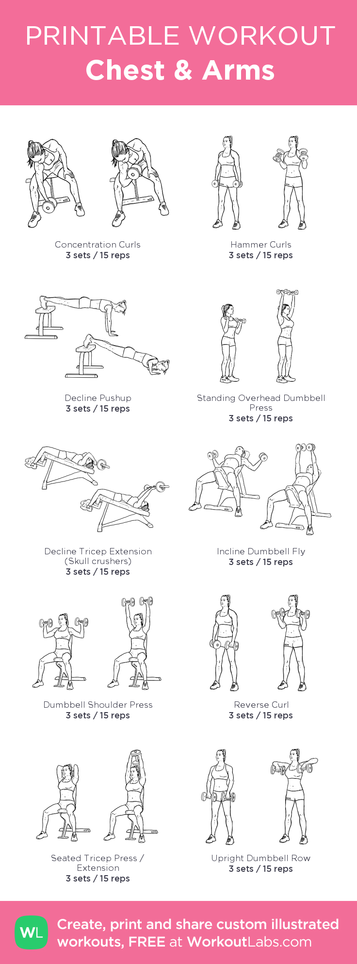 It's just a picture of Sweet Printable Arm Workouts