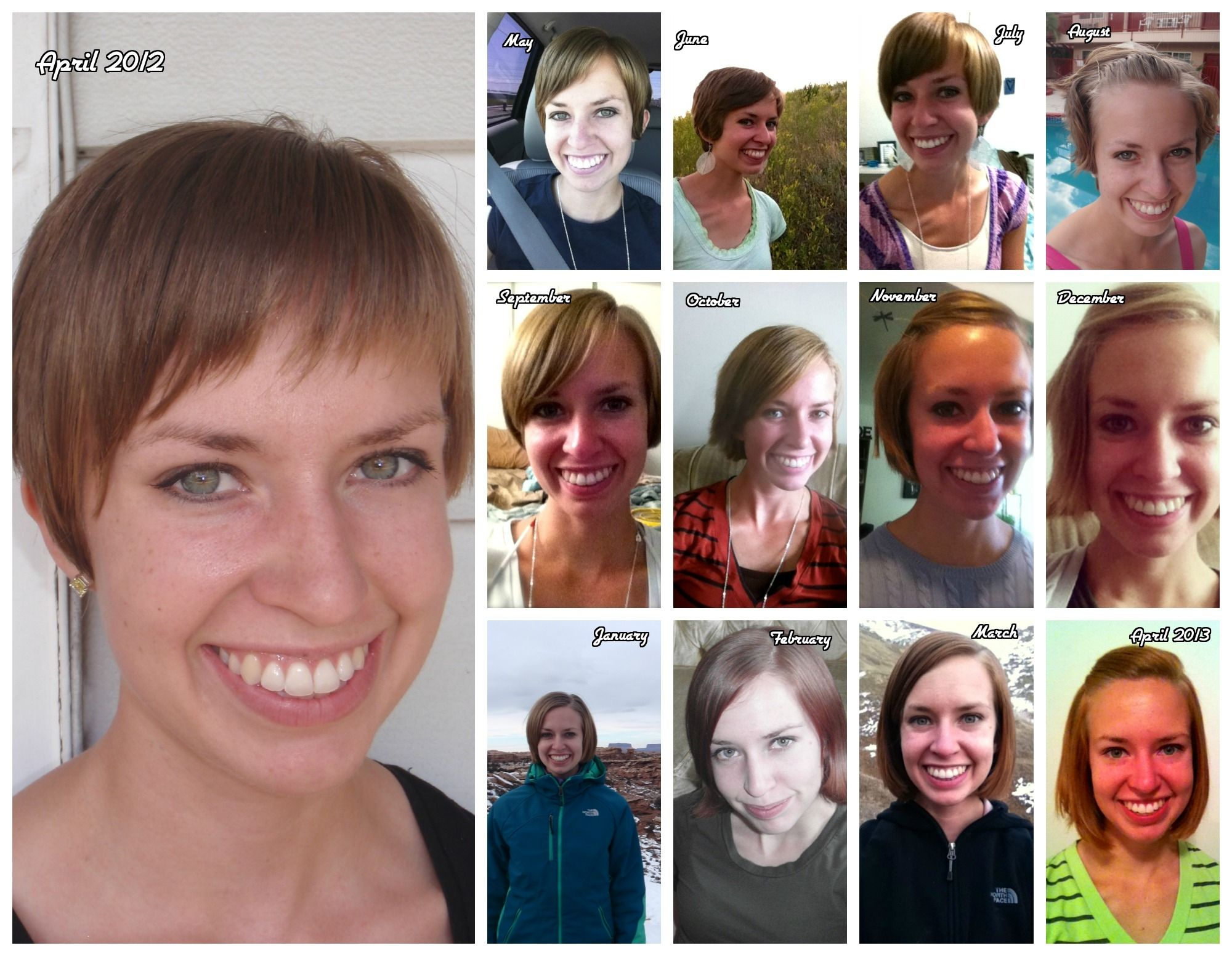 Growing out Pixie haircut timeline Hair