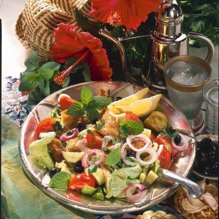 Syrischer Brotsalat Rezept Salad - syrische küche rezepte
