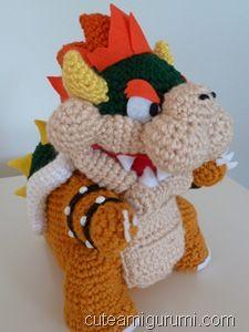 Bowser amigurumi crochet pinterest bowser amigurumi patterns bowser amigurumi dt1010fo