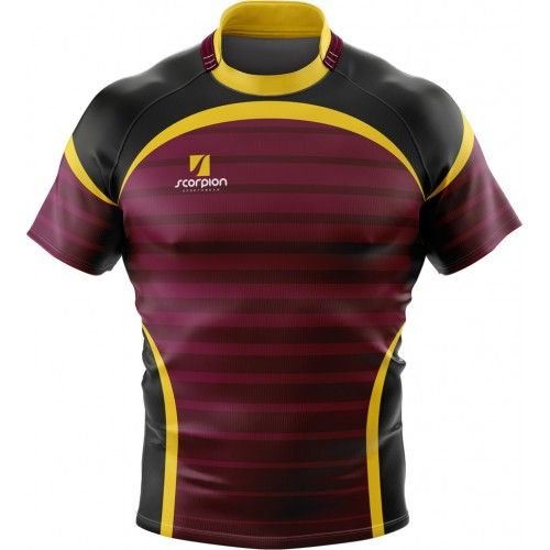Rugby Shirts Produced In Your Own Design From Rugby Kit Designers Scorpion Sports In The Uk Camisetas Deportivas Diseno Deportivo Camisas