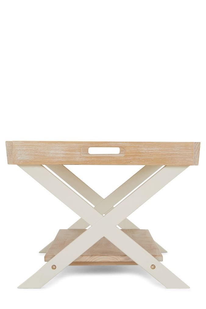 Next Huxley Painted Tray Coffee Table Natural Table