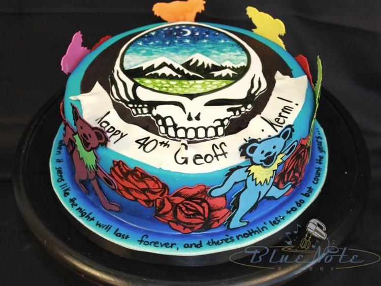 Grateful Dead 40th Birthday | Blue Note Bakery - Austin, Texas ...