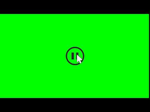 1517 Pause Button Green Screen Hq 1080p60fps Youtube Greenscreen Green Screen Video Backgrounds Chroma Key