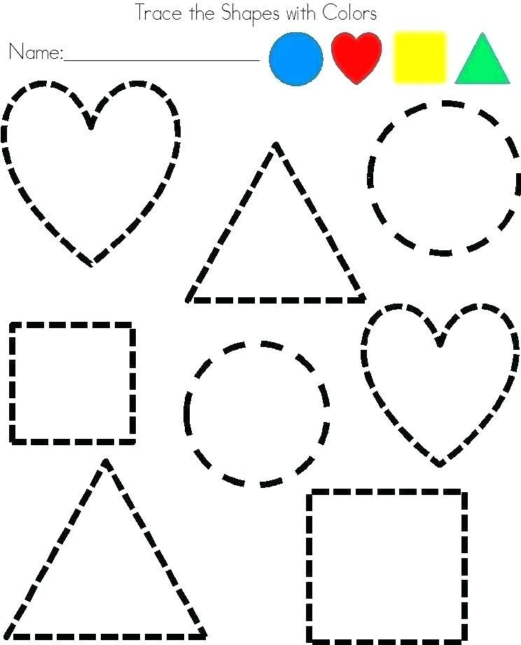 New Coloring Pages Shapes Download | Shapes preschool ...