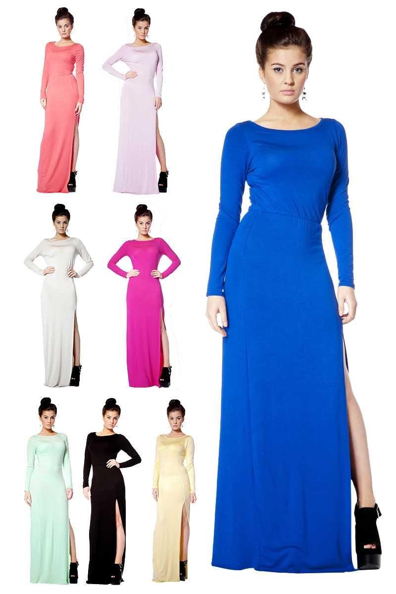 Juliana Long Sleeve Jersey Maxi Dress from ASOS, $66 | apparel ...