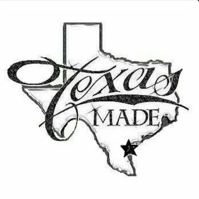 Girly Texas State Tattoos Texas Made Image