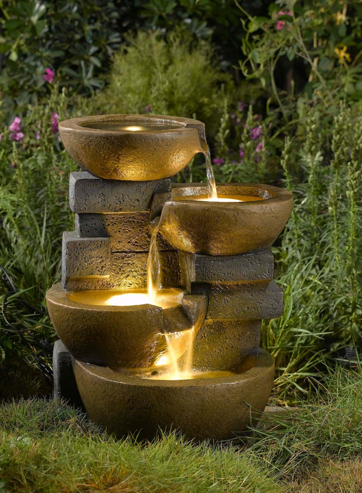 Pots Water Fountain With Led Light Water Fountains Outdoor Garden Water Fountains Indoor Water Fountains Outdoor water fountains with lights