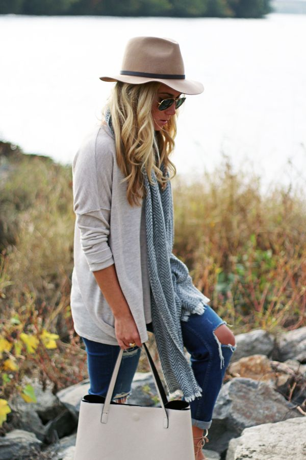 Neutral Fall Outfit.