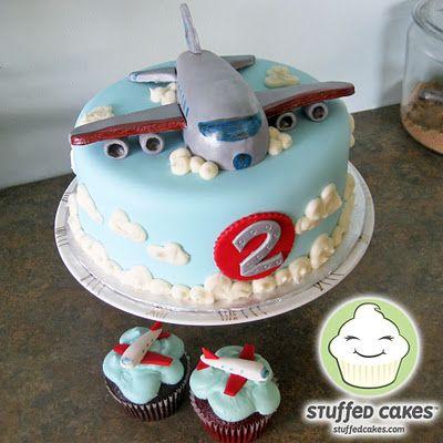 Dusty Airplane Cake Pan