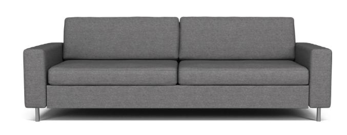 Sofa Scandinavia Infinity Light Grey 15 Cm Krom Ben Livingroom Inspo Pinterest